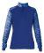 Badger Sportswear 4198 Sport Blend Women's 1/4 Zip Royal/ Royal Blend