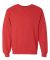 SF72R Fruit of the Loom 7.2 oz. Sofspun™ Crewneck Sweatshirt Fiery Red