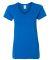 5V00L Gildan Heavy Cotton™ Ladies' V-Neck T-Shirt ROYAL