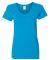 5V00L Gildan Heavy Cotton™ Ladies' V-Neck T-Shirt SAPPHIRE
