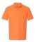 82800 Gildan Premium Cotton™ Adult Double Piqué Polo TANGERINE