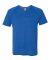 M1105 All Sport Men's Performance Triblend Short-Sleeve V-Neck T-Shirt Royal Heather Triblend