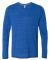 M3102 All Sport Men's Performance Triblend Long-Sleeve T-Shirt Royal Heather Triblend