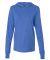 BELLA+CANVAS 3512 Unisex Jersey Hooded T-Shirt HEATHER TRUE ROY