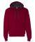 SF76R Fruit of the Loom 7.2 oz. Sofspun™ Hooded Sweatshirt Cardinal