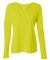 W3009 All Sport Ladies' Performance Long-Sleeve T-Shirt Sport Safety Yellow