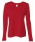 W3009 All Sport Ladies' Performance Long-Sleeve T-Shirt Sport Red