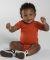 4405 Rabbit Skins - Infant Vintage Bodysuit  VINTAGE ORANGE