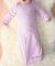 4406 Rabbit Skins Infant Baby Rib Lap Shoulder Layette PINK