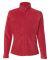 Colorado Clothing 9634 Women's Classic Sport Fleece Full-Zip Jacket Red