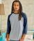 42BA X-Temp Three-Quarter Sleeve Baseball T-Shirt