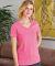 5780 Hanes® Ladies Heavyweight V-neck T-shirt - 5780