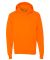 P170 Hanes® PrintPro®XP™ Comfortblend® Hooded Sweatshirt Safety Orange