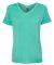 8132 J. America - Women's Oasis Wash V-Neck T-Shirt Spearmint