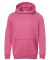 8606 J. America - Youth Glitter French Terry Hood Wildberry/ Silver