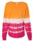 8229 J. America - Game Day Jersey Atomic Orange/ Cosmic Pink Tie-Dye