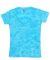 J America 8159 Caitlin Ladies Tie-Dye V-Neck Tee