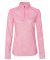 Badger Sportswear 4193 Blend Women's Quarter-Zip Pullover Pink