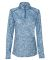 Badger Sportswear 4193 Blend Women's Quarter-Zip Pullover Royal