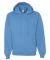 996M JERZEES® NuBlend™ Hooded Pullover Sweatshirt California Blue