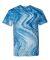 Dyenomite 200MR Marble Tie-Dye T-Shirt Blue