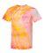 Dyenomite 200MR Marble Tie-Dye T-Shirt Flo Pink/ Flo Yellow
