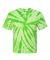 Dyenomite 600TT Tie-Dye Performance T-Shirt Lime