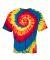 Dyenomite 600TT Tie-Dye Performance T-Shirt Rainbow - 600TI