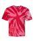 Dyenomite 600TT Tie-Dye Performance T-Shirt Red