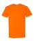 3930P Fruit of the Loom Adult Heavy Cotton HDT-Shirt with Pocket Safety Orange