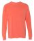 6014 Comfort Colors - 6.1 Ounce Ringspun Cotton Long Sleeve T-Shirt Bright Salmon