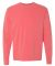 6014 Comfort Colors - 6.1 Ounce Ringspun Cotton Long Sleeve T-Shirt Watermelon