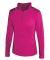 Badger Sportswear 4286 Women's Quarter-Zip Lightweight Pullover Hot Pink