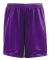 "5109 C2 Sport Adult Mesh/Tricot 9"" Shorts Purple"