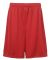 5129 C2 Sport Adult 9 Performance Shorts Red