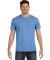 Hanes 498P Nano-T Pocket T-Shirt Vintage Blue
