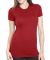 4990 Bayside Ladies' Fashion Jersey Tee Red