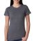4990 Bayside Ladies' Fashion Jersey Tee Dark Ash