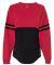 Boxercraft T14 Pom Pom Jersey Tee Red/ Black