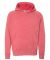 Independent Trading Co. PRM15YSB Youth Raglan Hoodie Pomegranate