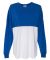8229 J. America - Game Day Jersey Royal/ White