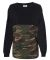 8229 J. America - Game Day Jersey Black/ Camo