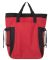 Liberty Bags 7291 New York Backpack Tote RED/ BLACK
