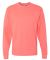 5186 Hanes 6.1 oz. Ringspun Cotton Long-Sleeve Beefy-T® Charisma Coral