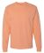 5186 Hanes 6.1 oz. Ringspun Cotton Long-Sleeve Beefy-T® Candy Orange