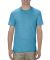 5301N Alstyle Adult Cotton Tee Turquoise Heather