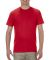 5301N Alstyle Adult Cotton Tee Red
