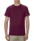 5301N Alstyle Adult Cotton Tee Burgundy