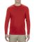 5304 Alstyle Adult Long Sleeve T-shirt Red