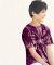 Dyenomite 20BTT Youth Tone-on-Tone Pinwheel Short Sleeve T-Shirt